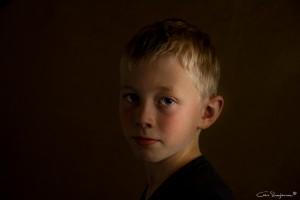 Sven - Fine Art Portret foto
