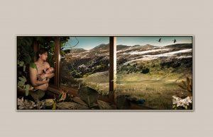 Portret uit bed serie Habitat